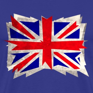 rough union jack - Men's Premium T-Shirt