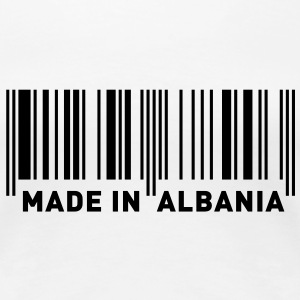 MADE IN ALBANIA T-skjorter - Premium T-skjorte for kvinner