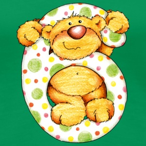 Sweet little bear and the 6 T-shirts - Premium-T-shirt dam