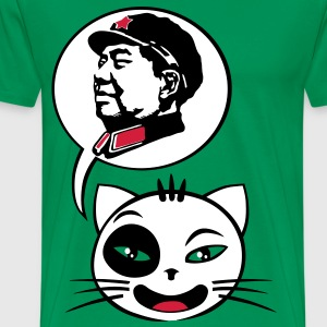 Cat say mao - Mannen Premium T-shirt