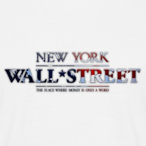 New York Wall Street - Männer T-Shirt
