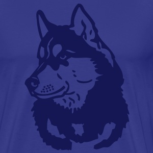 - www.dog-power.nl - CG -  - Mannen Premium T-shirt