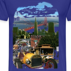 oldie in san francisco - Männer Premium T-Shirt