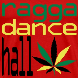 ragga dance hall  T-shirts - Mannen Premium T-shirt
