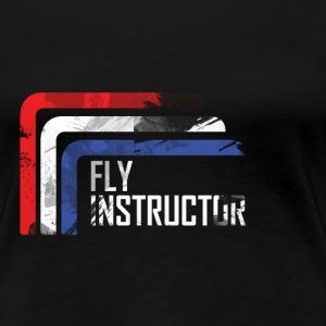 fly instructor T-shirts - Vrouwen Premium T-shirt