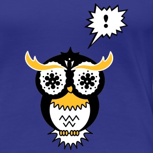 A psychedelic owl T-Shirts - Women's Premium T-Shirt