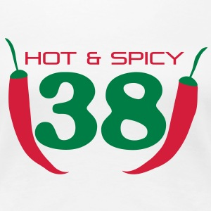 38_hot_spicy T-Shirts - Frauen Premium T-Shirt