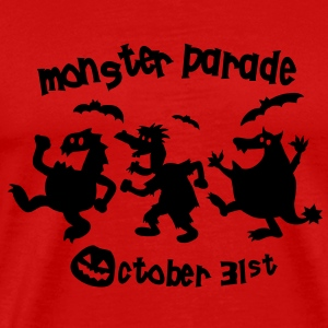 Monster Parade T-Shirts - Men's Premium T-Shirt