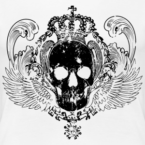 skulls king black T-Shirts - Frauen Premium T-Shirt