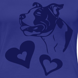 www.dog-power.nl - T-shirt Premium Femme