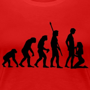 evolution_sucks_a_1c Tee shirts - T-shirt Premium Femme