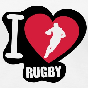 i love rugby Tee shirts - T-shirt Premium Femme