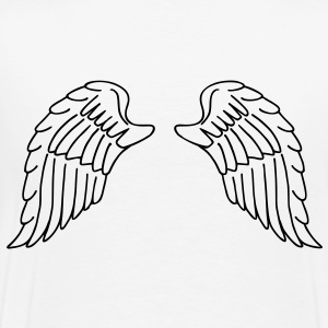 Angel's wings - T-shirt Premium Homme
