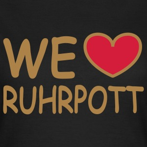 WE ♥ love Ruhrgebiet T-Shirts - Frauen T-Shirt