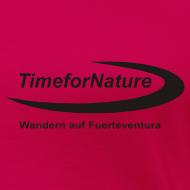 Motiv ~ TimeforNature-Shirt für Damen mit Logo