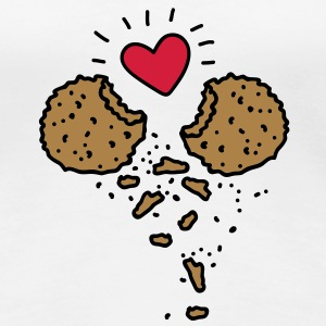 Cookies in Love Tee shirts - T-shirt Premium Femme