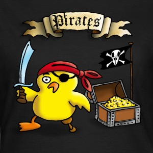 pirate_chick_c T-Shirts - Frauen T-Shirt