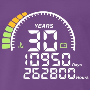 compteur anniversaire years ans 30 Tee shirts - T-shirt Premium Homme