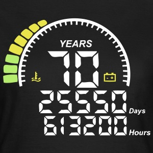 compteur anniversaire years ans 70 Tee shirts - T-shirt Femme