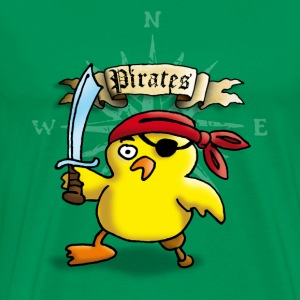 pirate_chick_p T-shirts - Mannen Premium T-shirt