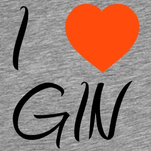 I Love Gin [Alcohol / Alkohol] T-Shirts - Men's Premium T-Shirt