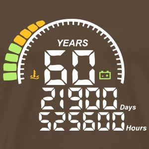 compteur anniversaire years ans 60 Tee shirts - T-shirt Premium Homme