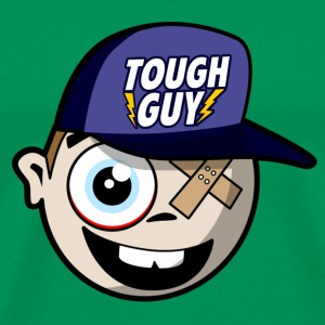 Tough Guy - Harter Bursche - Comic T-Shirts - Männer Premium T-Shirt