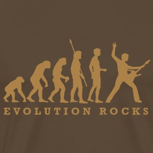 evolution_rocks_a_1c T-Shirts - Men's Premium T-Shirt