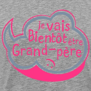 bulle bientot grand pere Tee shirts - T-shirt Premium Homme