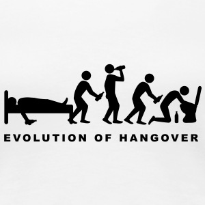 evolution_of_hangover T-shirt - Maglietta Premium da donna