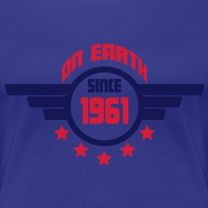 1961_on_earth Camisetas - Camiseta premium mujer