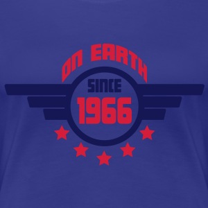 1966_on_earth T-shirts - Dame premium T-shirt