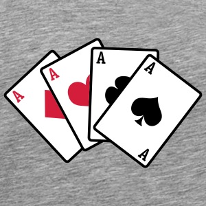 poker cards - Männer Premium T-Shirt