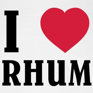 I Love Rhum T-Shirts - Frauen Premium T-Shirt