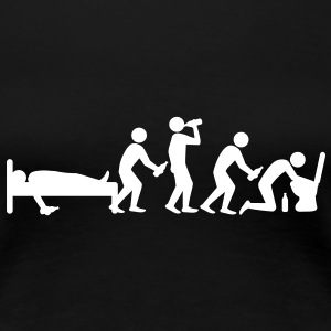 hangover_evolution T-Shirts - Frauen Premium T-Shirt