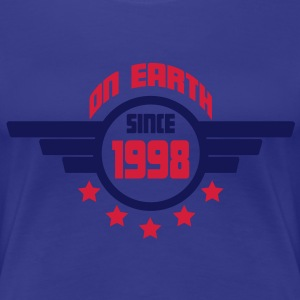 1998_on_earth Camisetas - Camiseta premium mujer
