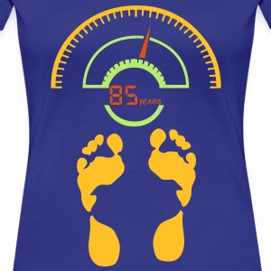 weighs pese personne balance 85 years Tee shirts - T-shirt Premium Femme