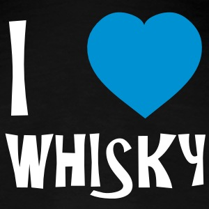 I Love Whisky T-Shirts - Frauen Premium T-Shirt