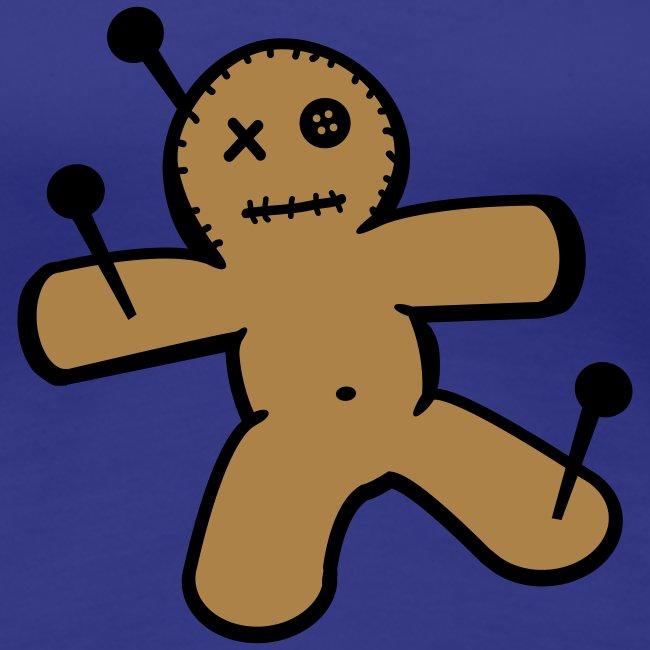 Dames T-shirt met Voodoo Pop Opdruk