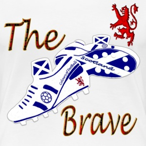 Scotland the Brave Football Ladies - Women's Premium T-Shirt