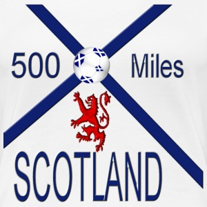 Scotland 500 miles ladies tee - Women's Premium T-Shirt