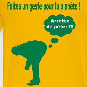 ecologie_humour Tee shirts - T-shirt Premium Homme