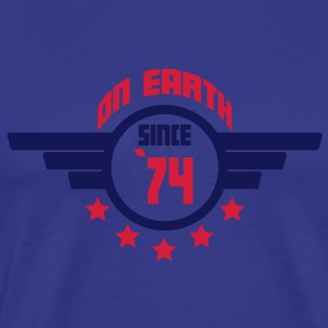 74_on_earth T-shirts - Mannen Premium T-shirt