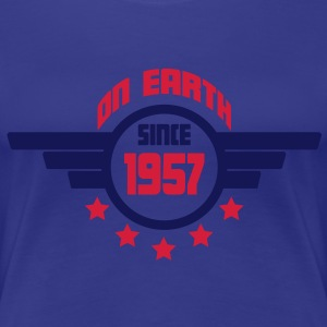 1957_on_earth T-shirts - Vrouwen Premium T-shirt