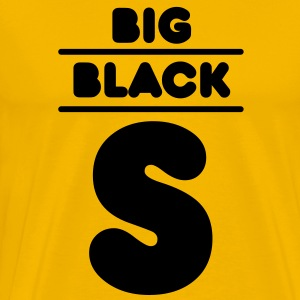 Big Black S T-Shirts - Men's Premium T-Shirt