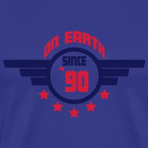 90_on_earth T-shirts - Mannen Premium T-shirt