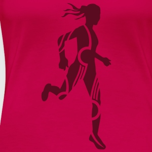 Cross country female - T-shirt Premium Femme