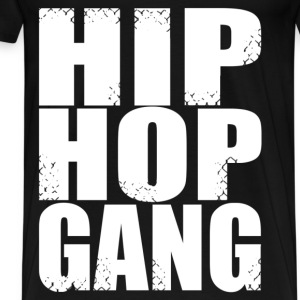 hip hop gang T-Shirts - Men's Premium T-Shirt