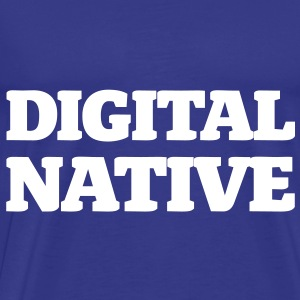 Digital Native - Generation Internet - Männer Premium T-Shirt