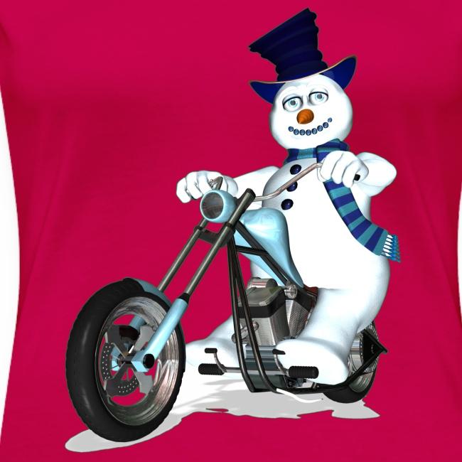 Biker Snowman (ladies)